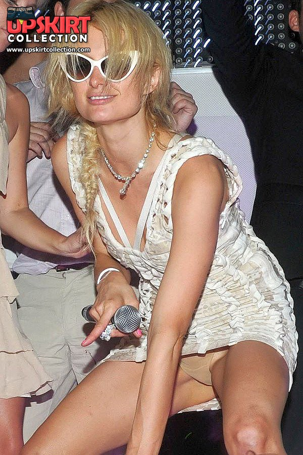 Paris hilton upskirt shoot
